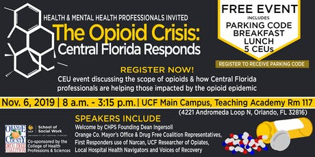 The Opioid Crisis: Central Florida Responds tickets