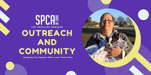 Get Involved Seminar: SPCA of Texas Outreach and Community