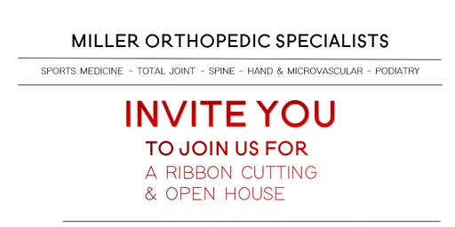 Ribbon Cutting & Open House