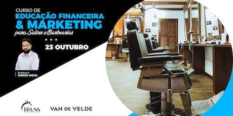 Curso de Educação Financeira e Marketing ingressos