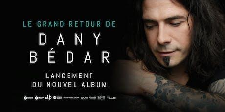 Dany Bédar | Lancement acoustique et intime billets