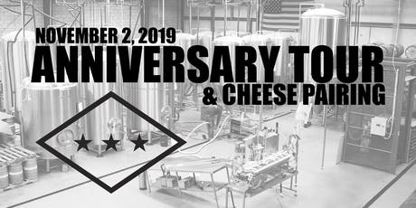 Ozark Beer Co. Anniversary Tour and Cheese Pairing tickets