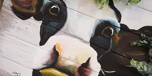 Daisy Cow Paint Class