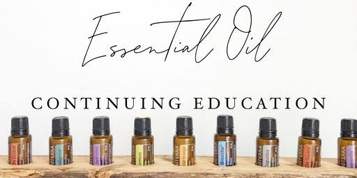 Essential Oil Continuing Education