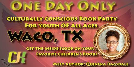 Waco CJK Publishing Book Signing tickets