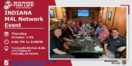 Marine For Life Networking Event  for October