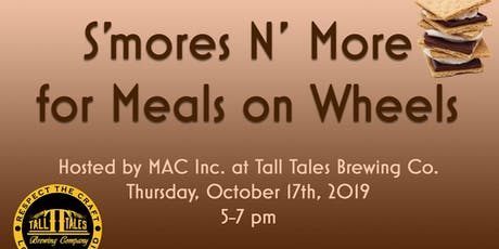 S'mores N' More for Meals on Wheels tickets