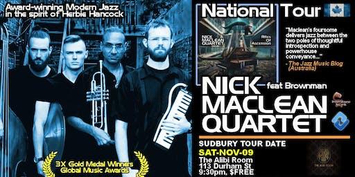 NICK MACLEAN QUARTET feat. BROWNMAN ALI (Sudbury)