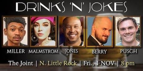 Drinks N' Jokes tickets
