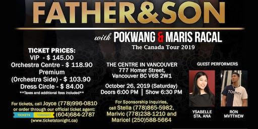 PIOLO PASCUAL & INIGO PASCUAL  - FATHER & SON, The Canada Tour 2019