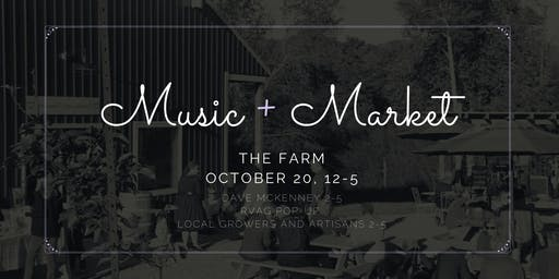 Music and Market in the Orchard