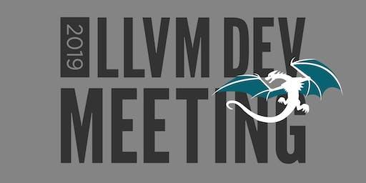 2019 LLVM Developers' Meeting - Bay Area