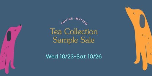 Tea Collection Sample Sale: Southeast Asia Collection!