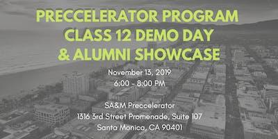 Preccelerator Class 12 Demo Day + Alumni Showcase!