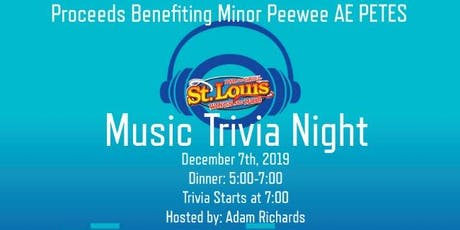 St Louis Music Trivia Night tickets