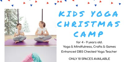Kids Yoga Christmas Camp