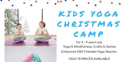 Kids Yoga Christmas Camp