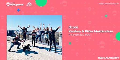 Kanban & Pizza Masterclass by Scoro at Startup Week Tallinn 2019