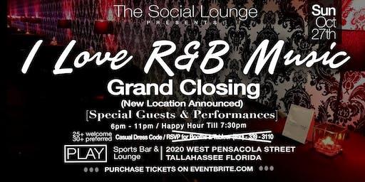 "The Social Lounge  ""Grand Closing"""