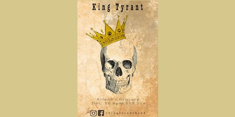 King Tyrant, Jimmy And The Band tickets
