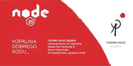 Coding Dojo Silesia #11K - Javascript Edition Tickets