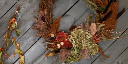 Workshop: Everlasting Beauty, Autumn Wreath