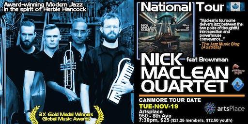 NICK MACLEAN QUARTET feat. BROWNMAN ALI (Canmore)