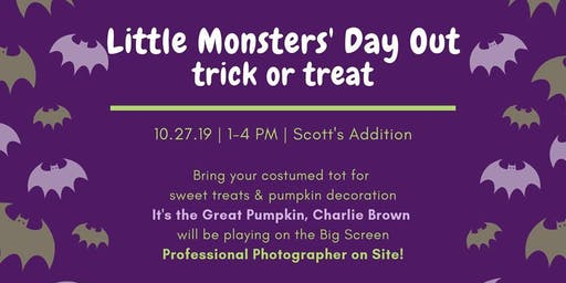 Little Monsters' Day Out- Trick or Treat at Courthouse Creek