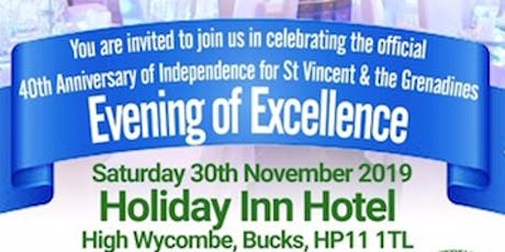 SVG40 Caribbean Evening of Excellence tickets