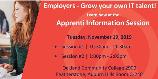 Apprenti | Grow your IT Talent  | Employer Information Session