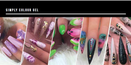 Artistic Abstract: Hands on Nail Art