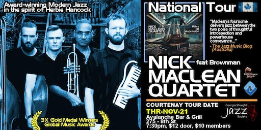 NICK MACLEAN QUARTET feat. BROWNMAN ALI (Courtenay)