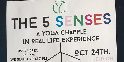 THE 5 SENSES, art, yoga and live movement experience