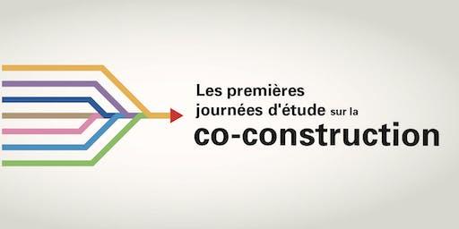 Journées d'étude sur la co-construction - Volet 1