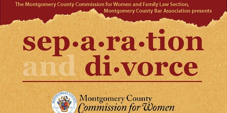 Separation and Divorce: What Do I Need To Know?  tickets
