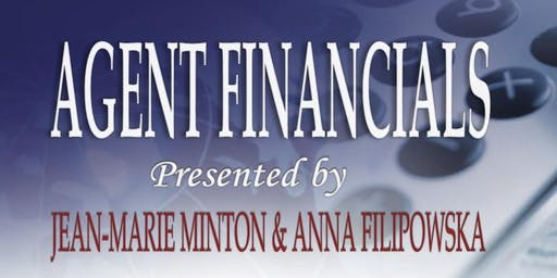 Agent Financials Lunch and Learn!
