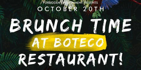 Brunch time at Boteco Restaurant tickets
