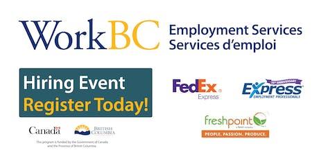 WorkBC Delta Hiring Event tickets