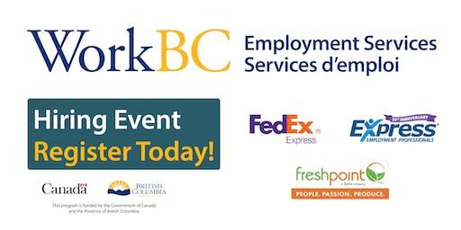 WorkBC Delta Hiring Event
