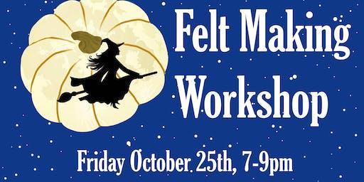 Felt Pumpkins Workshop