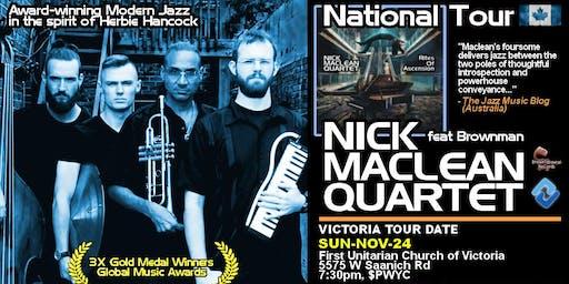 NICK MACLEAN QUARTET feat. BROWNMAN ALI (Victoria)
