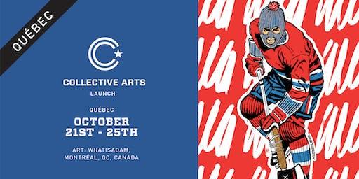Quebec Launch: Tap/Fridge Takeover + Art atL'Espace Public
