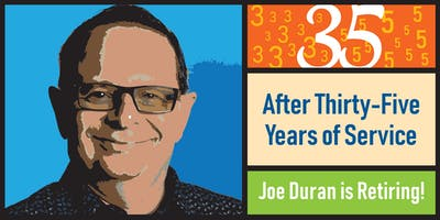 Joe Duran Retirement Party