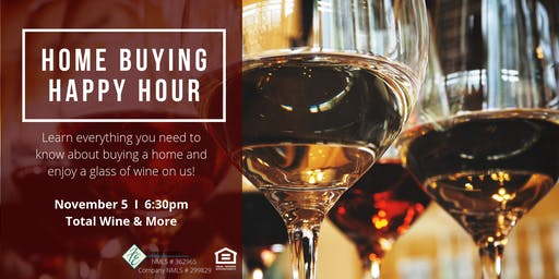Home Buying Happy Hour