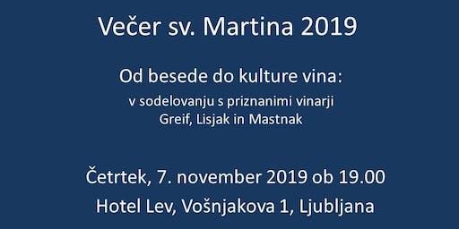 Martinov večer 2019