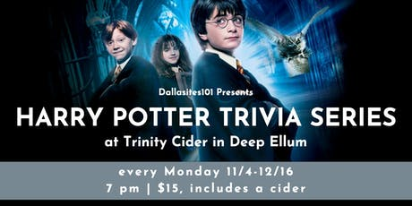 Harry Potter Trivia Series tickets