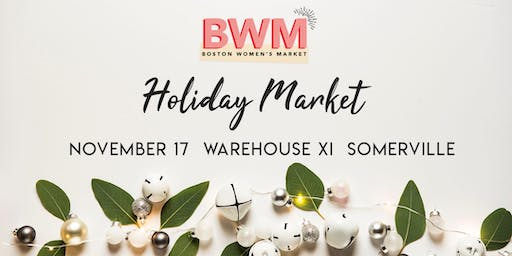 Boston Women's Holiday Market