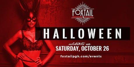 Halloween at Foxtail tickets