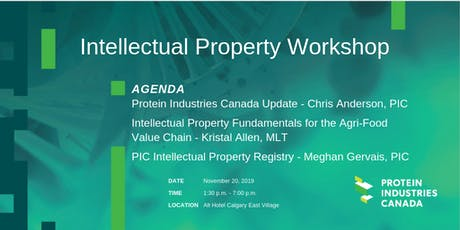 Intellectual Property Workshop & Networking Reception tickets