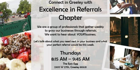 Excellence in Referrals of Greeley~TEAM Referral Network tickets